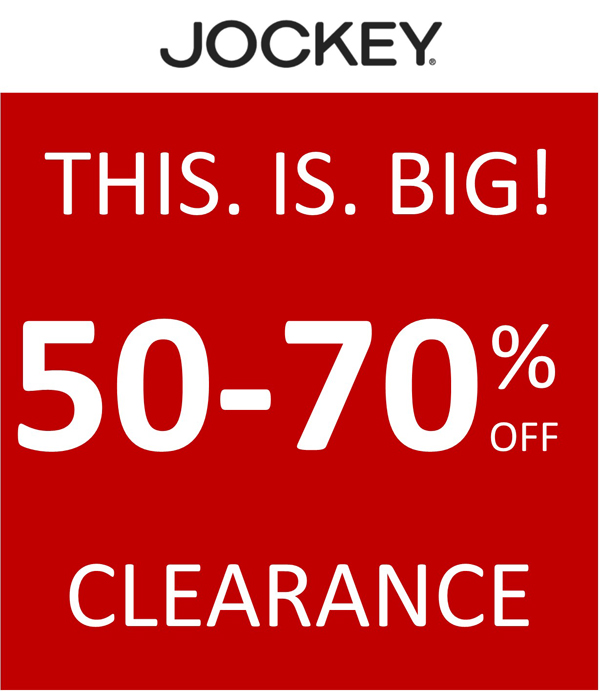 50 - 70 off Clearance
