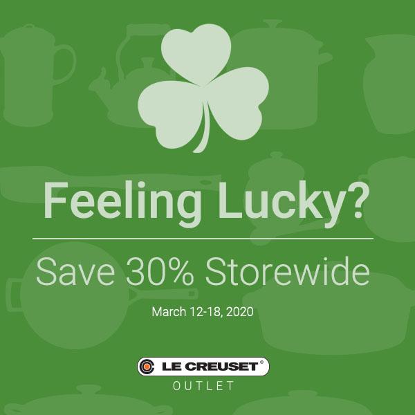 Lucky Savings!