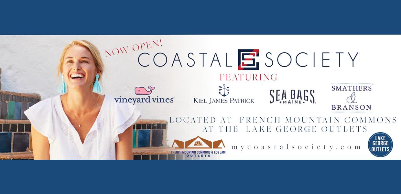 Coastal Society Now Open!