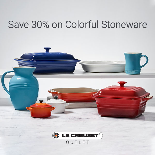 Rainbow of Colorful Stoneware